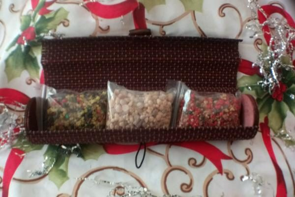 scatola regalo incensi natale