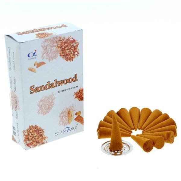 Sandalowood cones